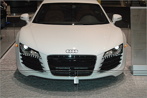 John A. Murphy III of Boston shot this Audi R8 with a Nikon D70.