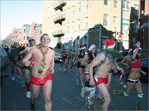 santa speedo run 2008