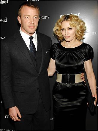 Guy Richie and Madonna