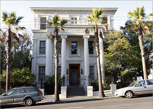 A rock 'n' roll tour of San Francisco wouldn't be complete with a drive by the former ''Jefferson Airplane House,'' a gleaming, four-story mansion at 2400 Fulton St. The Airplane, after their sudden success, bought it in 1968 for $70,000 in 1968 and rehearsed and held many a lavish party there, including one with John Belushi and the Blues Brothers in 1979.