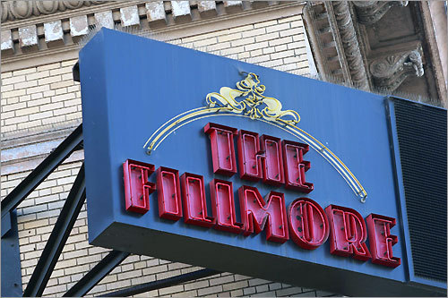 The Fillmore opened in 1912.