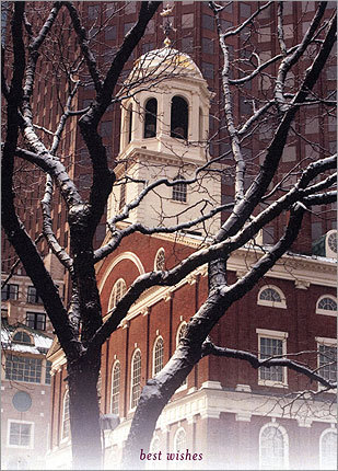 Suffolk University Joe Nucci, Suffolk's Vice President for External Affairs sent us this holiday greeting.