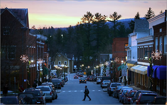 Spring Street has it all: art, food, movies, shopping, against the backdrop of the Berkshire Mountains.