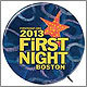 First Night buttons