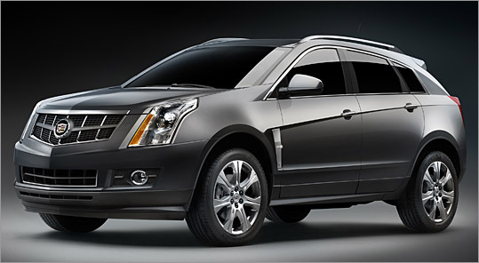 The 2010 Cadillac SRX is one of several new models domestic automakers hope will pick up slumping sales.