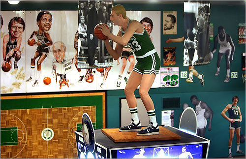 Take a shot at seeing the Sports Museum at TD Banknorth Garden, where Larry Bird remains deadly from the foul line, surrounded by celebrated Celtics.