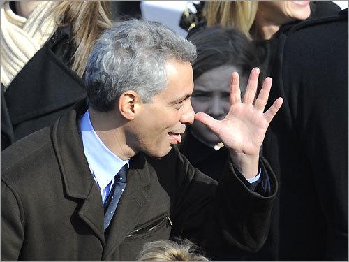 President Barack Obama's Chief of Staff Rahm Emmanuel