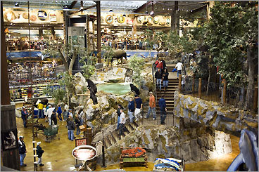 Patriot Place - Bass Pro Shops