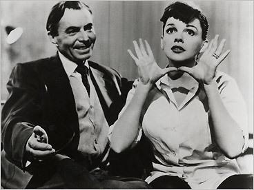 James Mason and Judy Garland