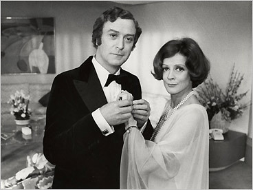 Michael Caine and Maggie Smith