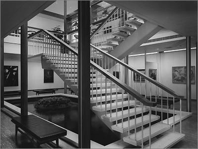 Rose Art Museum Interior, 1961