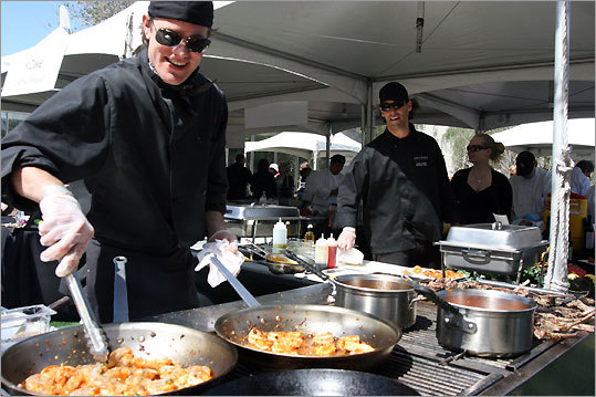 The West of Western Culinary Festival includes two days of al fresco sampling outside the Phoenix Art Museum.