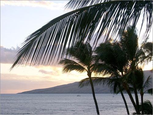 Kihei on Maui, Hawaii.