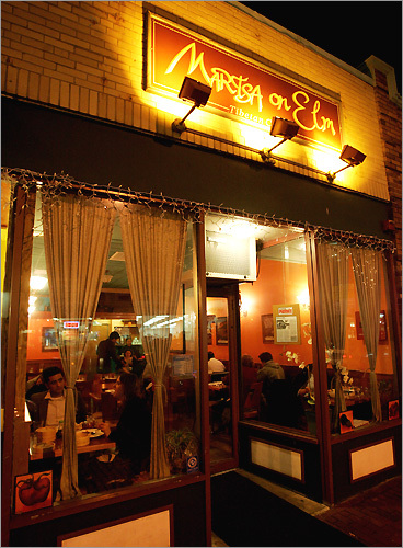 Choesang and Dechen Martsa's restaurant Martsa in Somerville