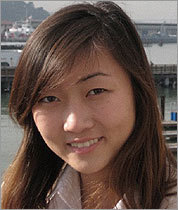 Elizabeth Mun, 16, (left) the drowning victim in Andover.