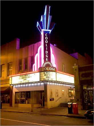 Coolidge Corner Theatre in Brookline.