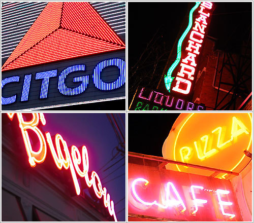 While the glory days of neon lights may be over, many signs still retain a special glow. Check out some of Massachusetts' brightest lights.