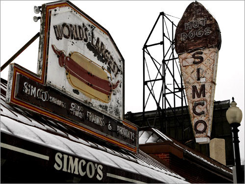 Simco's on Blue Hill Avenue in Mattapan.