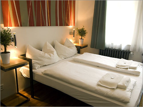 Miss Sophie's in Prague is an easy walk from Old Town, and offers private rooms, dorms, and apartments.