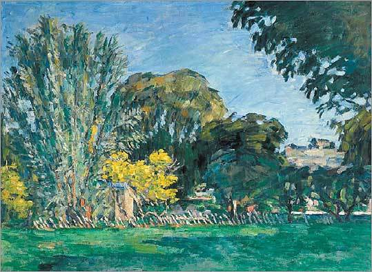 Cezanne's 'Trees in the Jas de Bouffan.'