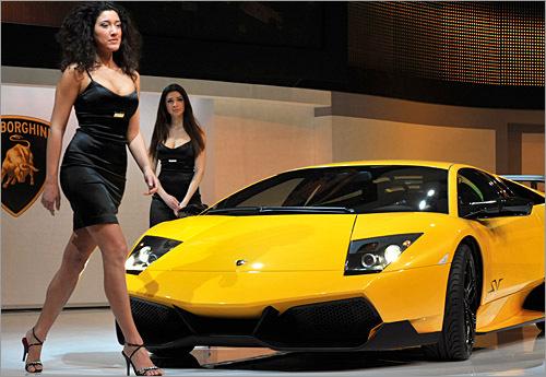 Car: Lamborghini Murcielago LP670-4 SV