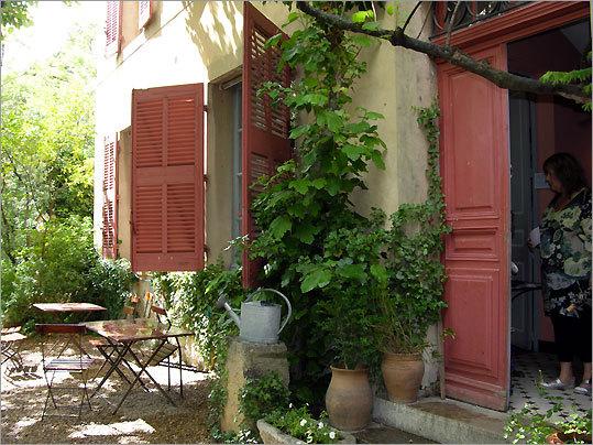 Aix-en-Provence studio and garden of painter Paul Cézanne.