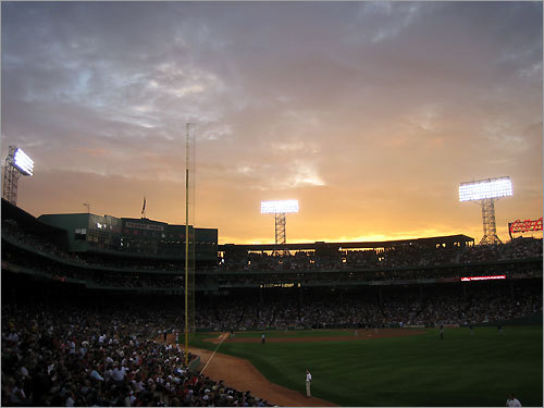 Fenway Park on Aug. 29, 2008. 'My best shot of Fenway.'