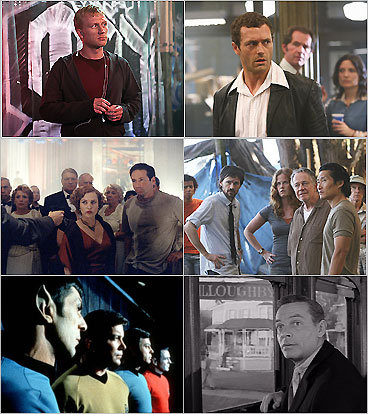TV shows with time-travel themes