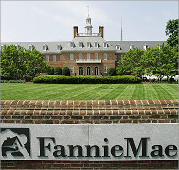 Fannie Mae Despite requesting $15 billion in federal aid earlier this year, the large mortgage finance company disclosed that it plans to pay retention bonuses of up to $611,000 each to key executives this year. While Fannie CEO Herbert Allison defended the bonuses as necessary to keep hundreds of employees from leaving, some in Congress called for the bonuses to be eliminated.
