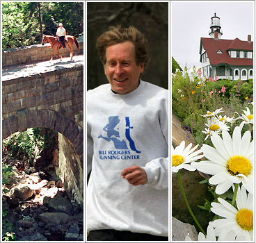 Bill Rodgers' favorite places to run in NE