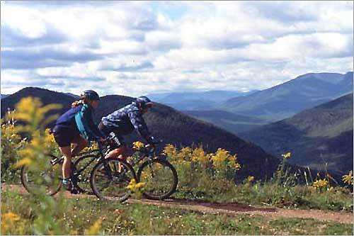 Loon Mountain offers mountain biking in the summer.