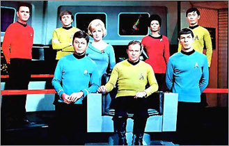 The original cast of 'Star Trek'