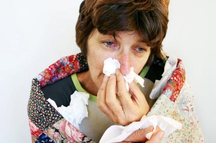 Body aches and chills are also symptoms.