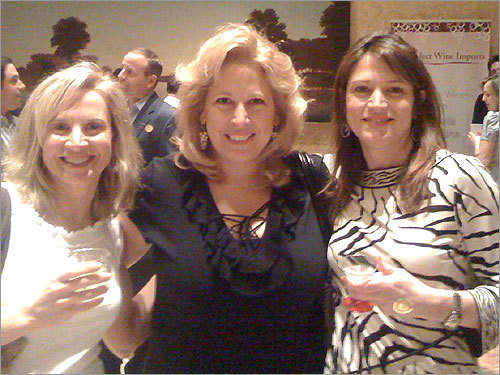 Beth Nast of Wellesley shared this photo from the Chefs Cooking for a Cure Fundraiser for Friends of Dana Farber at the 125 High Street Atrium in Boston. From left: Nast, Susan Baltrus, and Christine Axbey, all of Wellesley.