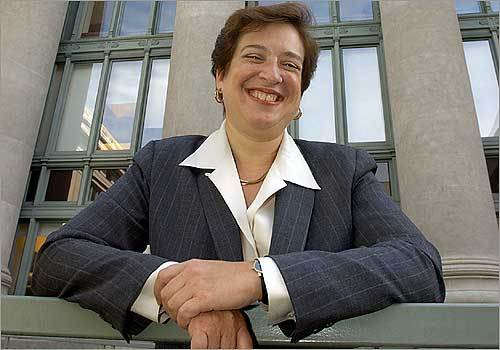 Among the most frequent names cited is US Solicitor General Elena Kagan, who is a former dean of Harvard Law School and was interviewed by President Obama last year before he appointed Sonia Sotomayor to succeed Justice David Souter. Solicitor General Elena Kagan is the first woman to hold that position.