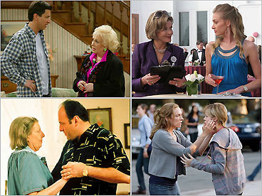 <img src='http://www.boston.com/multimedia/features/2008/ae/images/gilbertm.jpg'> Boston Globe TV critic Matthew Gilbert has rounded up 14 'crazy' TV moms. Why 14? Why not? Television is famous for giving us a few idealized mothers, including June Cleaver, Carol Brady, and Olivia Walton (not pictured). But there are quite a few crazy mothers in our TV history, as well, and Mother&#146;s Day is a great opportunity to pay them homage for keeping us entertained. Here&#146;s a list of moms -- from both comedies and dramas -- who aren&#146;t exactly Disneyesque. &mdash; Matthew Gilbert, Globe Staff