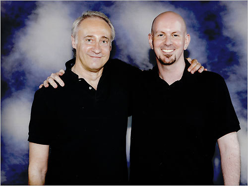 Brent Spiner and Steve Boudreault