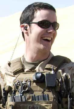 Navy Petty Officer Second Class Tyler Trahan, 22, Freetown