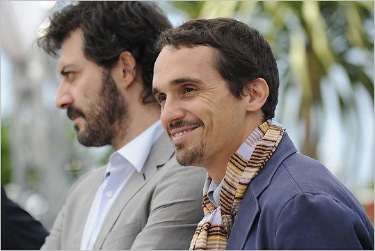 Filippo Timi and Pier Giorgio Bellocchio
