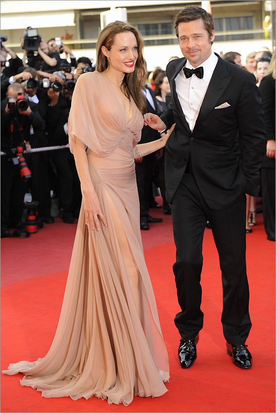 Brad Pitt and Angelina Jolie in Cannes May 20