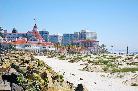 4. Coronado Beach San Diego, Calif.