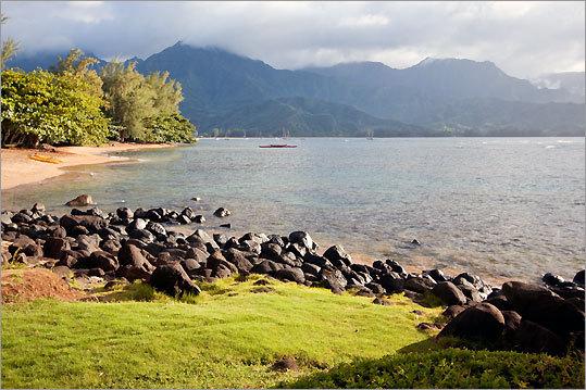1. Hanalei Bay Kauai, Hawaii