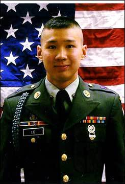 Staff Sergeant Edmond Lo, 23, of Salem, N.H.