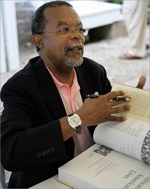 Gates during a book signing just moments before the screening of a segment of the Spike Lee documentary called 'When the Levees Broke: A Requiem in Four Acts,' in 2006. In 2000, Gates helped create the Martin Luther King After-School program at River's Ella J. Baker House in Dorchester. The project uses Gates and Appiah's Encarta Africana encyclopedia to teach urban children African and African-American history. He is currently director of the W. E. B. Du Bois Institute for African and African American Research at Harvard.