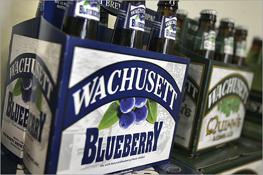 Wachusett Brewing Co. Location: Westminster Top beer: Wachusett Blueberry The Wachusett Brewing Co. , founded in 1993, launched its blueberry beer 10 years ago. 'As we say with Wachusett Blueberry - it's a beer first,' said Ned LaFortune, president of the Wachusett Brewing Co. 'Our formula allows for an appreciation of all the components of the brew as well as the balanced blueberry flavor. And it's subtle enough that someone not overly enthusiastic about blueberries can enjoy it.'