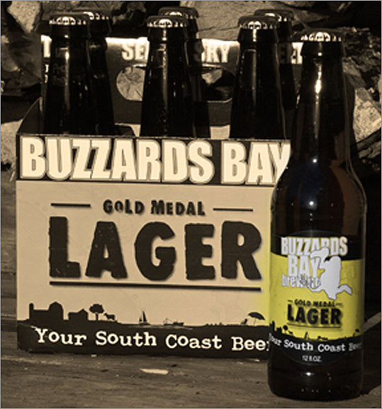 Buzzards Bay Brewing Location: Wesport Top beers: Gold Medal Lager, Black Lager, Summer Wheat Since 1998, Buzzards Bay Brewing has taken an environmentally-friendly approach to brewing its beers, the most popular of which are the Gold Medal Lager, the Black Lager, and the seasonal Summer Wheat. The first is, 'well-balanced. It's malty, it's hoppy. It's basically your run of the mill beer,' said employee Paul Coyne. The Summer Wheat is 'a lawn-mower beer' with a low alcohol content, and the Black Lager is enjoyed for its chocolate and mocha flavors.