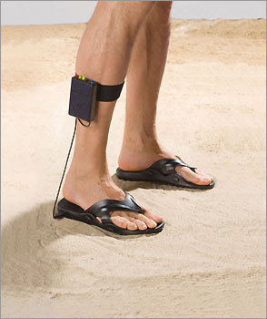 Treasure Seekers' Metal Detecting Sandals
