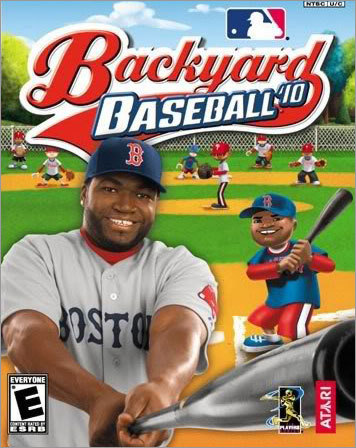 Ortiz is the cover boy for the newest edition of the popular ' Backyard Baseball ' video game franchise, in which major league stars appear as little kids playing baseball in a sandlot.