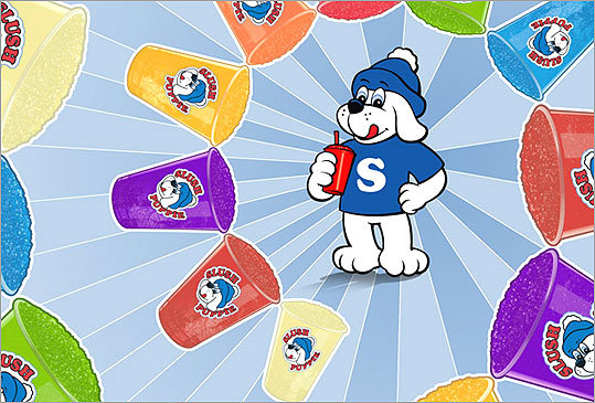 Available in more than 20 flavors, the Slush Puppie combines ice with a noncarbonated, caffeine-free beverage. It's a concession stand staple, perfect for hydrating and cooling off.