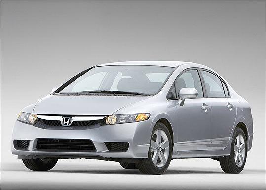 Price (2009 model): $15,505 to $20,855 Est. MPG: 26 city/ 34 highway ( Source: Honda )